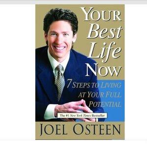 2/$25 Your Best Life Now: Joel Osteen: Hardcover